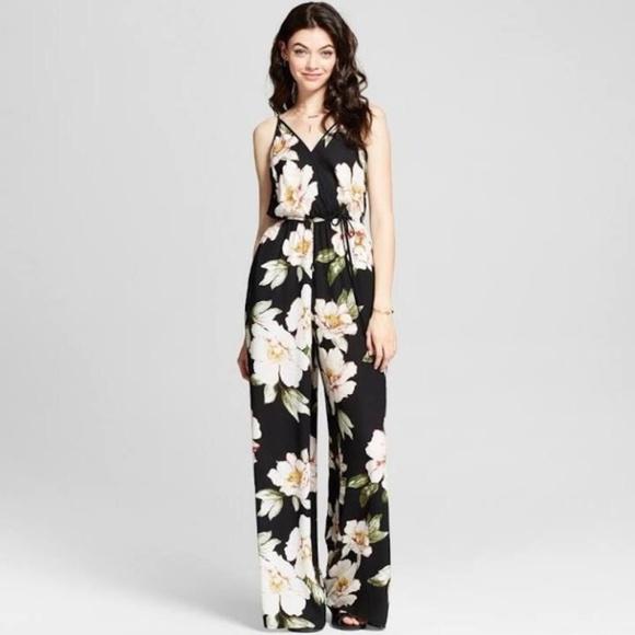 93de2d9d81f xhilaration floral jumpsuit